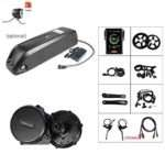 BAFANG 36V/48V 500W BBS02B E-Bike Conversion Motor Kit DIY LCD Display Electric Bike Kit with Battery and Charger