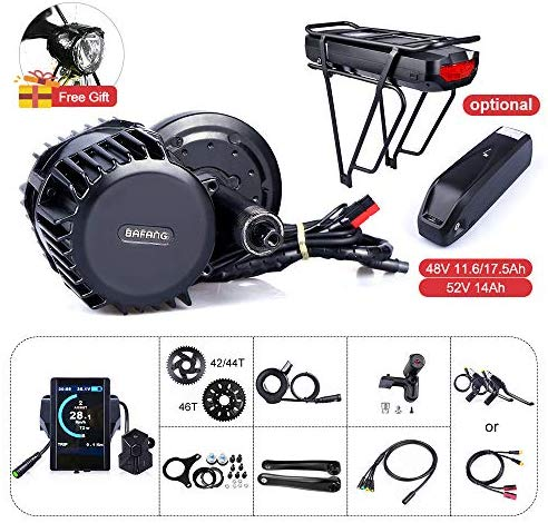 8FUN Bafang BBSHD Lastest Model 48V 1000W Ebike Electric Bicycle Motor Mid Drive Electric Bike Conversion Kit