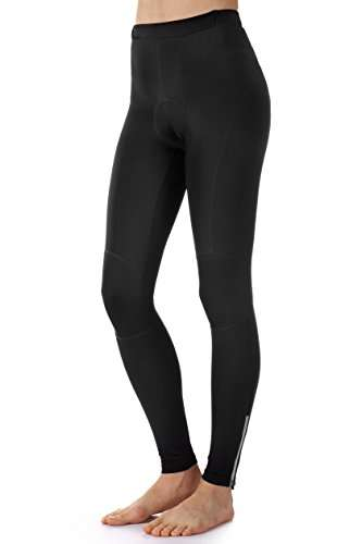 Dinamik Womens Long Cycling Bike Tights Light Extra Padded Pants EVO PRO