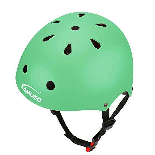 KAMUGO Kids Helmet,Toddler Helmet Adjustable Kids Helmet Ages 3-8//8-14 Years Old Boys Girls Multi Sports Safety Cycling Skating Scooter and Other Extreme Activities Helmet