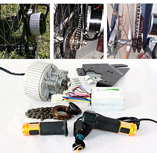 450W Electric Bicycle Motor Kit Easy to DIY E-Bike Economic Ebike Conversion Kit Electric Bike Side Mounted Motor Design