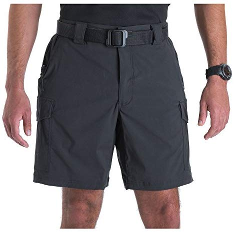 5.11 Tactical Men's 9-Inch Inseam Bike Patrol Shorts, Nylon Spandex Fabric, Style 43057
