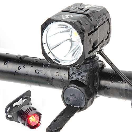 USB Headlight 50 Lumens Rechargeable Flashing Bicycle Front Aero LED Light