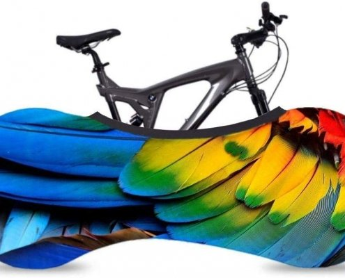 Futureshine Universal Bicycle Bike Covers Feathers for Indoor Storage, Protective Mountain Racing Bike Dust Covers, Keeps Floors and Walls Dirt-Free