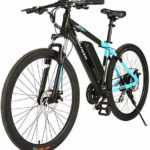 ANCHEER 2019 New 350W Electric Bike 27.5'' Electric Bicycle/Electric Mountain Bike, Newest 20MPH Ebike with Removable 36V 10.4Ah Lithium-Ion Battery, Professional 24 Speed Gears