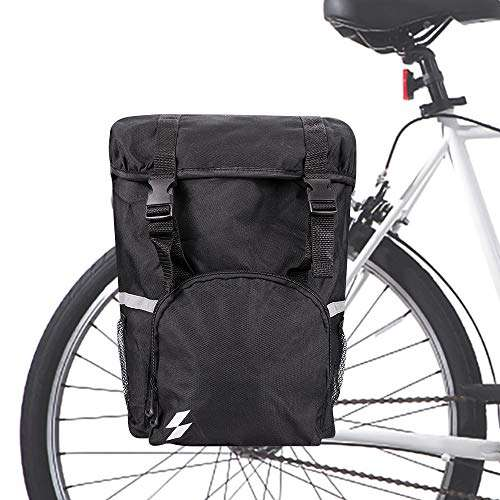Allnice Trunk Bag 15L Bicycle Panniers Pack Cycling Luggage Accessories Waterproof Rear Seat Pannier Bag