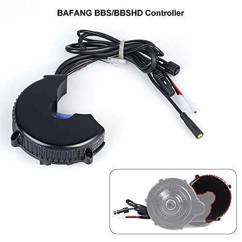 BAFANG 36V/48V 250-1000W 8fun BBS Controller BBSHD BBS BBS03B Controller Electric Bike Controller Accessories for Mid Drive Crank Engine Kits New Version