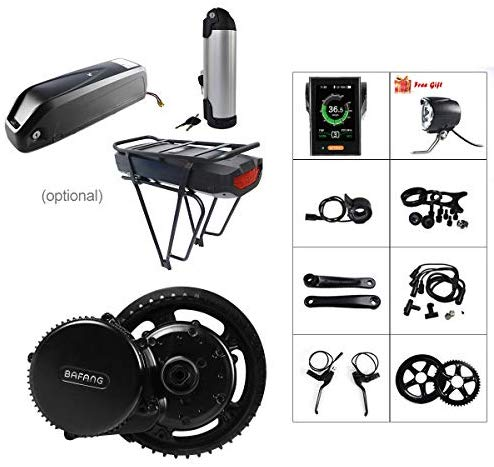 BAFANG 48V 500W BBS02B E-Bike Conversion Motor Kit DIY Electric Bike Kit with Battery and Charger