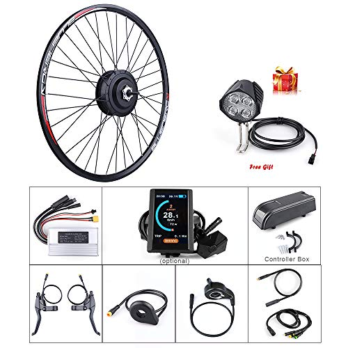 "BAFANG 48V 500W Rear Hub Motor Kit Ebike Conversion Kit for DIY Electric Bike with LCD Display for All Kinds of Bicycle 20"" 26"" 27.5"" 700C"