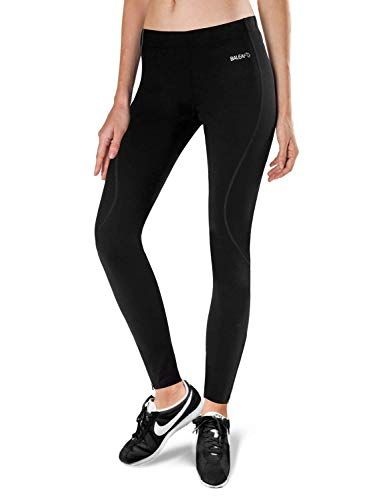 BALEAF Women's Thermal Fleece Running Cycling Tights Athletic Compression Pants for Winter