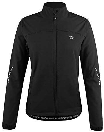 BALEAF Women's Windproof Thermal Softshell Cycling Winter Jacket