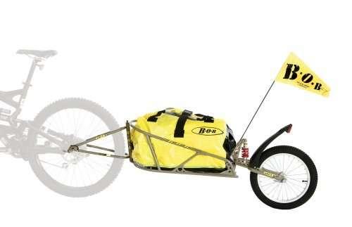 BOB Ibex 28 Plus Suspension Bike Trailer with Dry Sak