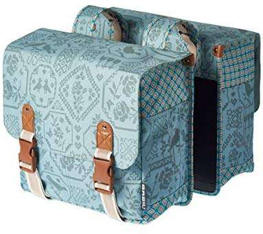 Basil Boheme Double Bicycle Pannier Bag
