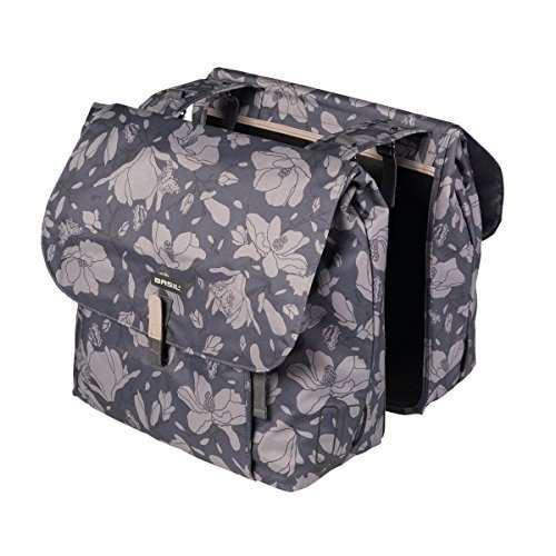 Basil Magnolia Double Bag Bike Pannier - 35L