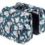 Basil Magnolia Double Bag MIK - Double Bicycle Pannier - Blue - 17786