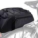 Bike Bag Bike Trunk Bag Rack Bags Rear Panniers Bag (for Bicycle Cargo Rack Saddle Bag Shoulder Bag Laptop Pannier Rack Bicycle Bag Professional Cycling Accessories)