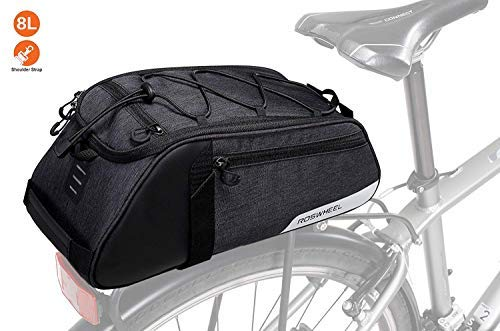 Bike Bag Bike Trunk Bag Rack Bags Rear Panniers Bag (for Bicycle Cargo Rack Saddle Bag Shoulder Bag Laptop Pannier Rack Bicycle Bag Professional Cycling Accessories)