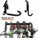 Bike Storage Rack Holds 5 Bicycles Home & Garage Adjustable Bike Wall Mount Hanger