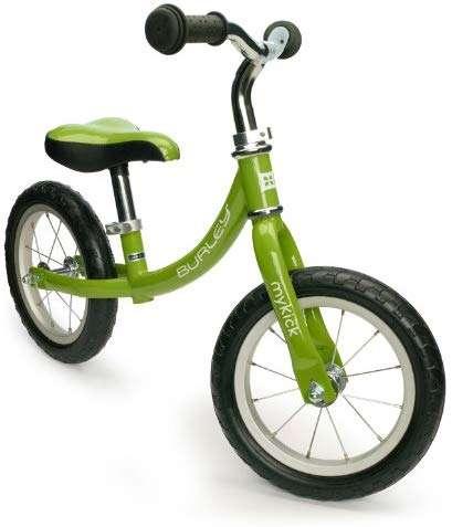 Burley MyKick, Balance Bike, Rubber, Non-Marking Tires - 2, 3, 4 Year Olds
