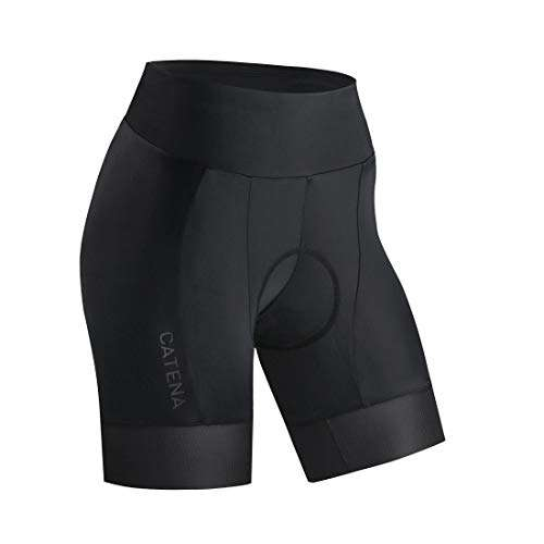 CATENA Women's Bike Shorts 3D Padded Cycling Short Pants for MTB Road Bicycle