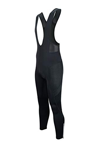 Dinamik Evo Pro Men's Cycling Bib Tights Leggings, Extra Padded Long Bike Pants