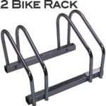 EasyGoProducts EGP-BIK-002 EasyGo Floor Stationary Double Wheel Rack, Indoor – Outdoor Bike Stand