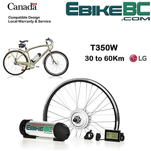 Ebike KIT 350W/500W Electric Bicycle E Bike Complete Conversion Front Hub Motor, Battery Li-Ion 32km/h LED/LCD 26/27.5/28/29/700C Rim Sizes