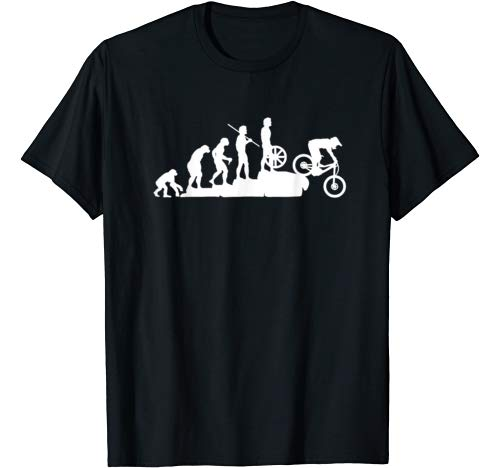Evolution Downhill Mountain Bike MTB Mountain Biking T-Shirt