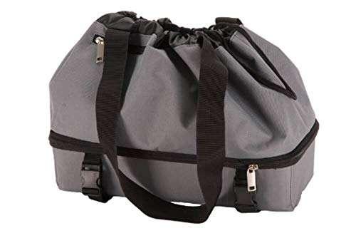 Expandable Rear Rack Bag - Gray