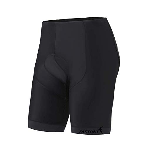 FASTONT Men's Cycling Shorts 3D Padded Bike Shorts Comfortable Riding Shorts