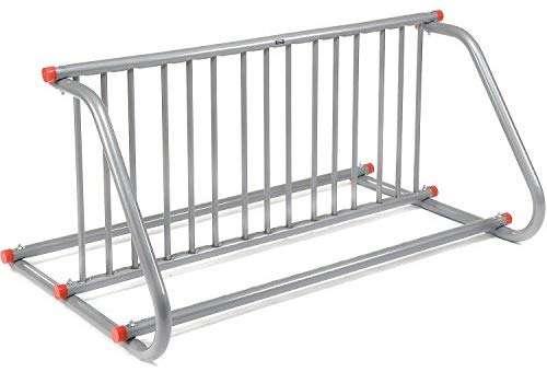 "Global Industrial 59-3/4""L Grid Bike Rack, Double Sided, Powder Coated Galvanized Steel, 10-Bike Capacity"