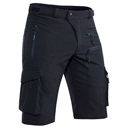 Hiauspor Men's-Mountian-Bike-Shorts-MTB-Shorts-Cycling-Short for Men