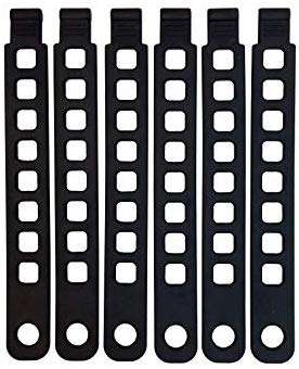 Hollywood Racks Rubber Strap (Pack of 6)