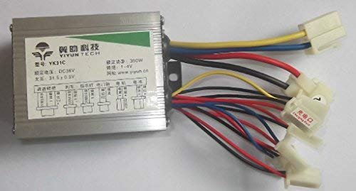 L-faster 24V36V 350W Electric Brush Motor Speed Controller for e-Bike Conversion kit