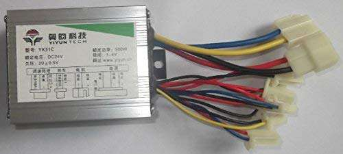 L-faster 24V36V48V 500W Electric Motor Controller for Brush DC Motor Speed Controller Brushed Motor Controller