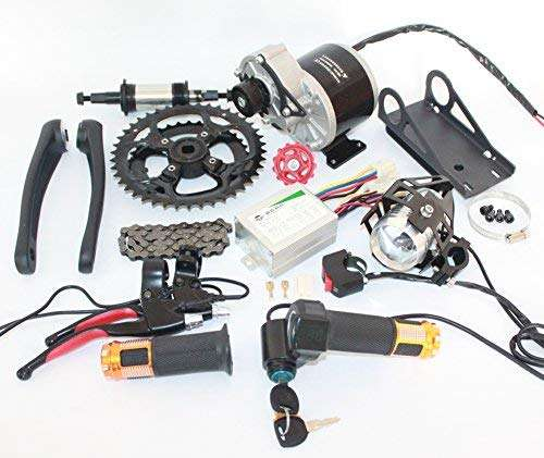 L-faster 48V 450W Electric Mountain Bike Mid-Drive Conversion Kit Electric Bike Kit DIY E-Bike Parts
