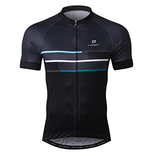 LAMEDA Cycling Jersey Men Short Sleeve Shirt Bike Accessories Running Tops