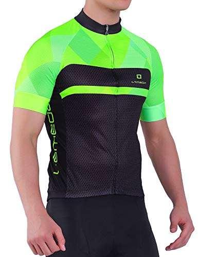 LAMEDA Men Basic Short Sleeve Cycling Jersey