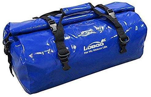 LOBOO Waterproof Bag 66L Motorcycle Dry Duffel Bag for Travel,Motorcycling, Cycling,Hiking,Camping