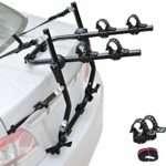 Leadpro 2-Bike Trunk Mounted Bike Rack, Bicycle Rack fits Most Sedans/Hatchbacks/Minivans and SUVs