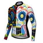 Men's Cycling Jersey Long Sleeve Biking Shirts Bike Bicycle Clothing