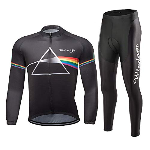 Men's Cycling Jersey Set MTB Bike Clothing Set Road Bicycle Shirts 3D Padded Shorts Quick-Dry Outdoor Riding Sportswear