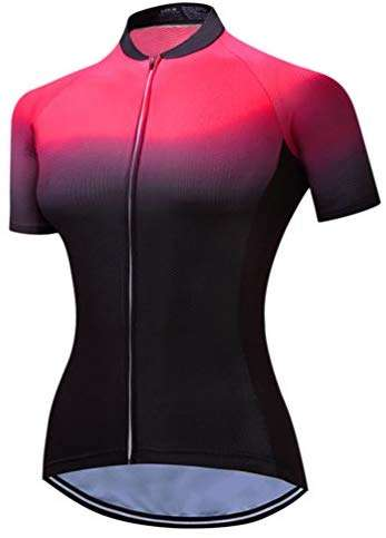 Mountain Bike Jersey Women, Women's Cycling Jersey Biking Shirt Jacket Tops, Comfortable Quick Dry