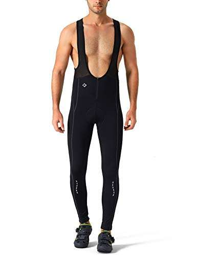 NAVISKIN Men's 3D Padded Thermal Cycling Bib Pants Bicycle Compression Tights