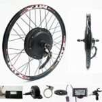 NBpower 72V 2000W Rear Wheel Motor, 2000W Electric Bike Kit,Electric Bicycle Conversion Kit with Mutifunction SW900 Display,72V 40A sine Wave Controller, with 7 Speed flywheel