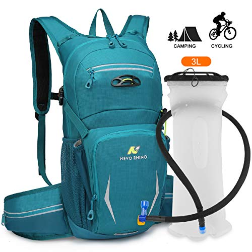 NEVO Rhino Cycling Backpack Biking Daypack Bike Rucksack Cycling Rucksack for Outdoor Sports