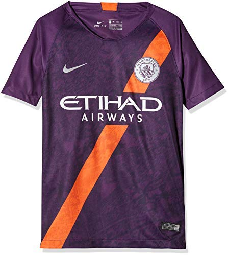 NIKE 2018-2019 Man City Third Football Shirt (Kids)
