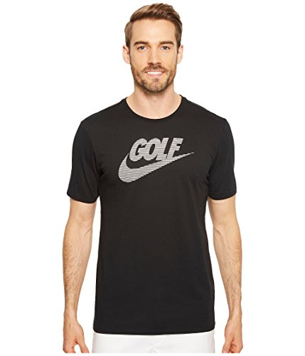NIKE Men's Dry Short Sleeve Lockup Golf Tee