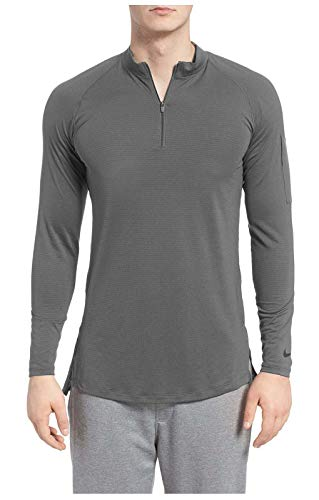 NIKE Men's Fitted Modern 1/4 Zip Training Top.