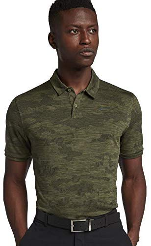 NIKE Zonal Cooling Camo Golf Polo 2018